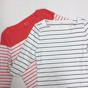 MERONA Boatneck Tee Bundle